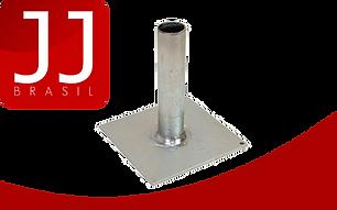 JJ Brasil - Produtos para Andaime Multidirecional   Placa (Sapata) de Base Fixa