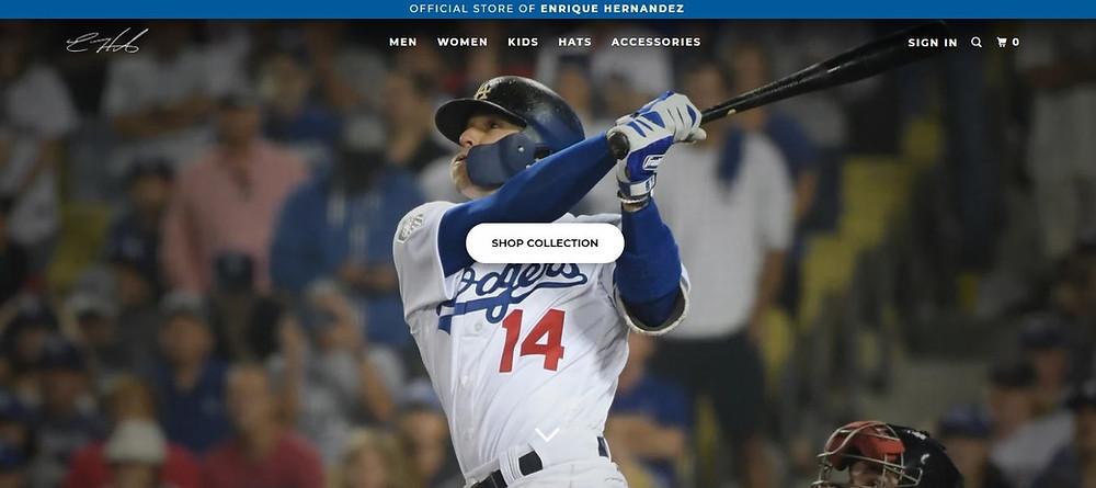 Kiké Hernandez Personal Website Homepage