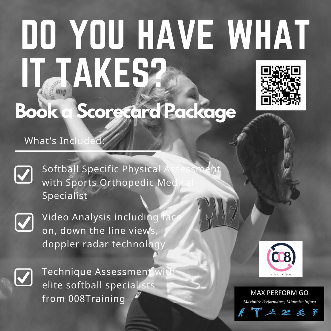 TheFieldhouse Softball ScoreCard Package