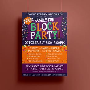The LFC Family Fun Block Party!