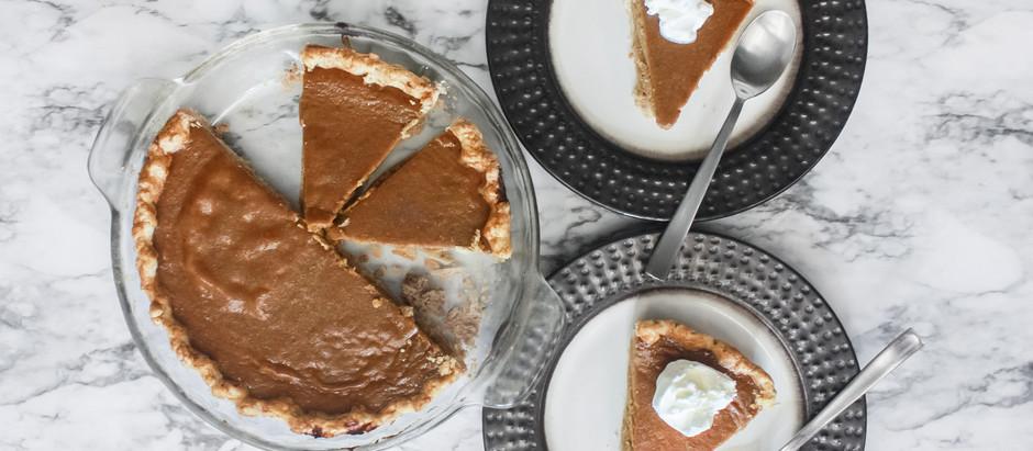 Blue Ribbon Brown Sugar Pumpkin Pie {From Scratch}
