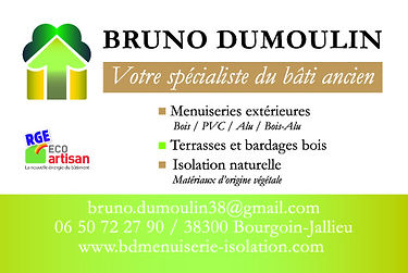 artisan menuiserie isolation Bourgoin-Jallieu