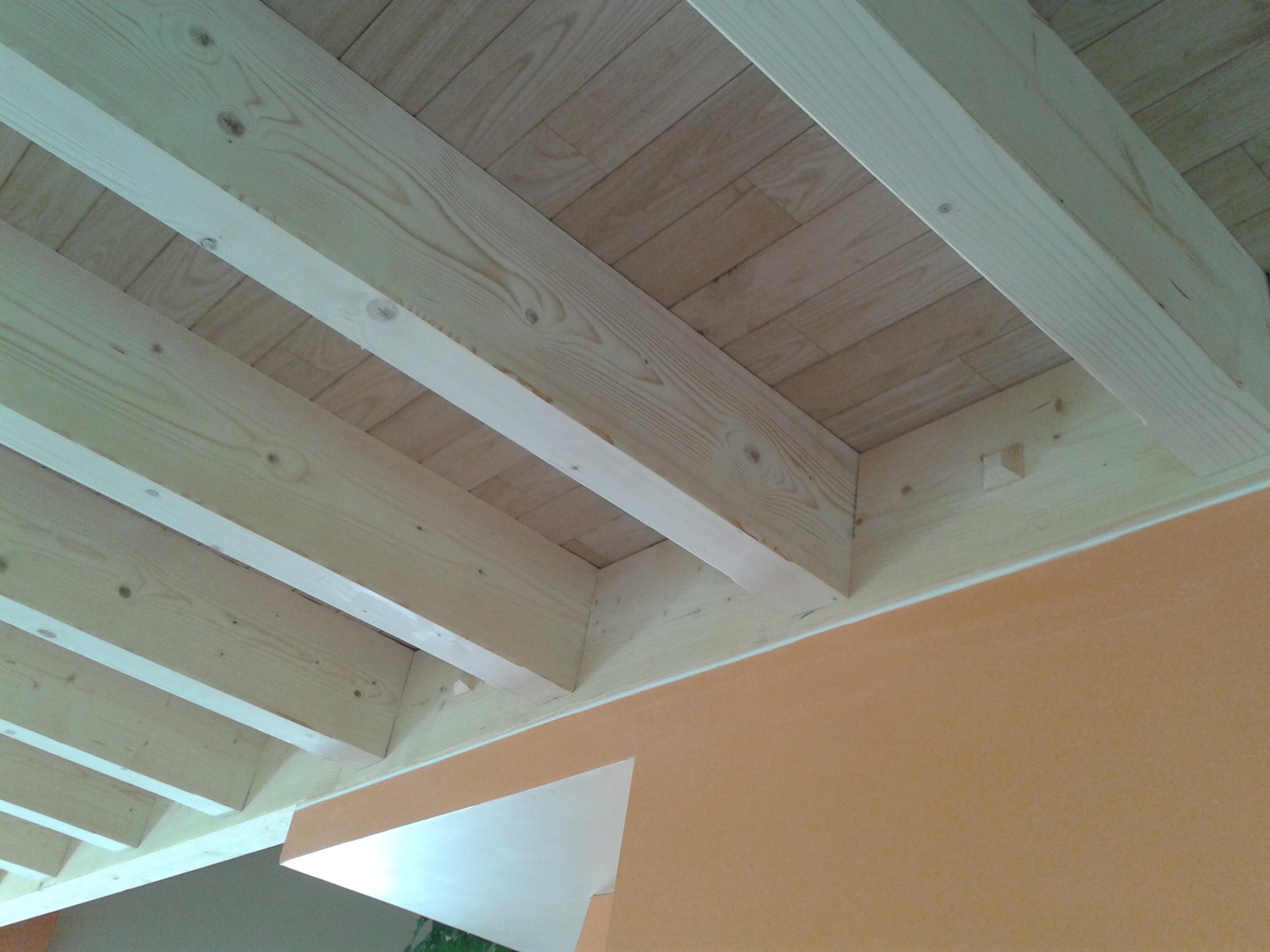 Solivage et plancher bois massif