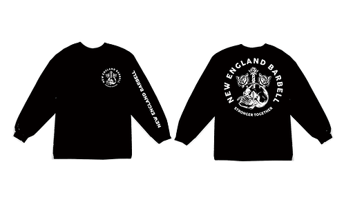STRONGER BLACK LONG SLEEVE