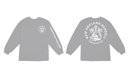 STRONGER GREY LONG SLEEVE