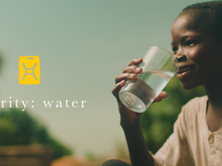 We're giving back to charity:water