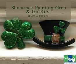 Shamrock Painting Grab & Go Kits (plus a