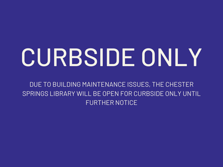 CURBSIDE ONLY