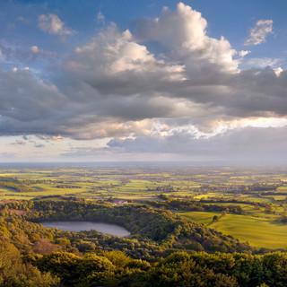 Vale of Mowbray panorama