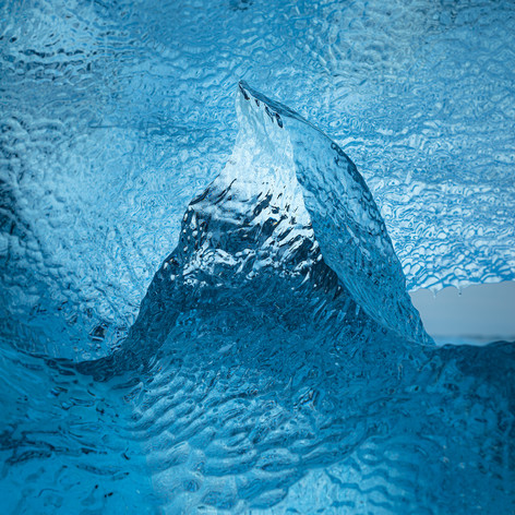 Ice peak
