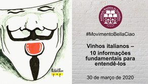 Encontro 6 - Vinhos Italianos: 10 informações fundamentais para entendê-los