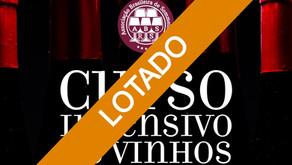 Curso Intensivo de Vinhos - Turma 2 - Caxias do Sul/RS