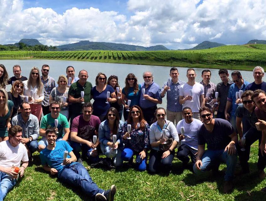 Aula na vinícola Don Guerino