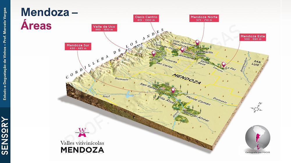 Valle de Uco possui alguns do vinhedos mais prestigiados de Mendoza (