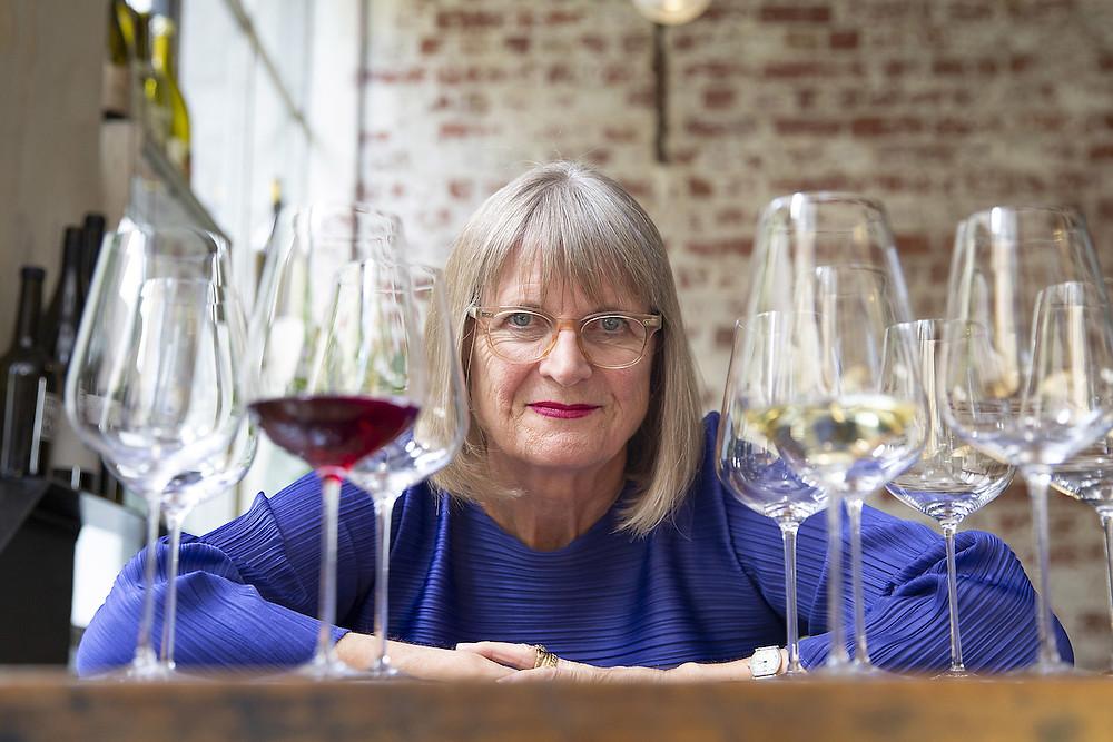 Jancis Robinson é uma das maiores autoridades em vinhos da atualidade