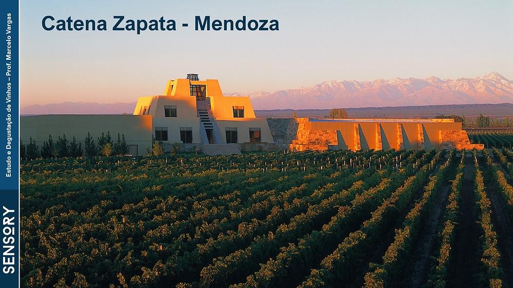 A Catena Zapata é uma das vinícolas mais emblemáticas de Mendoza
