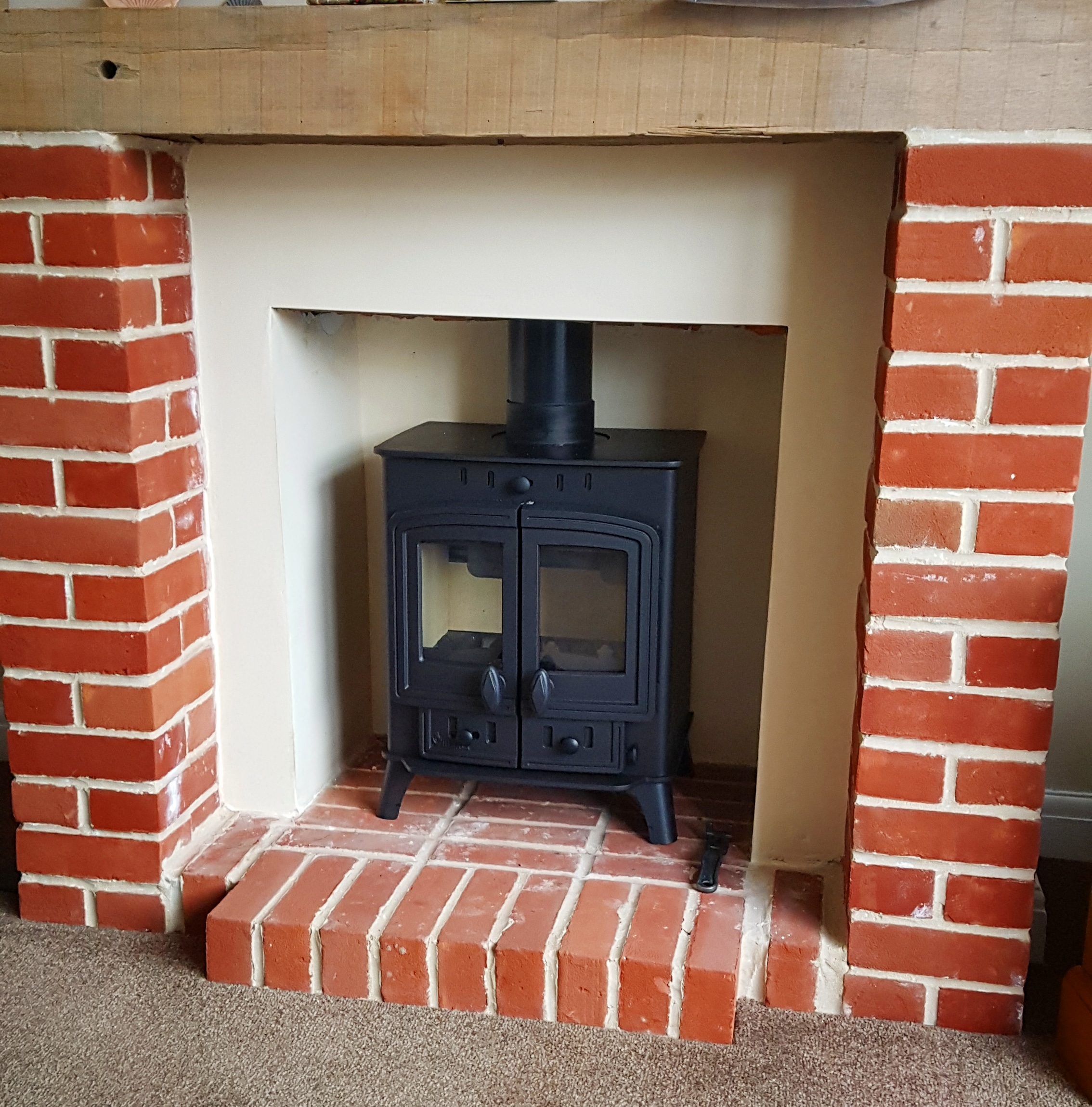 Villager Duo Stove Install