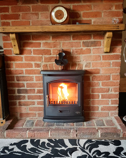 Tiger Inset Stove Install