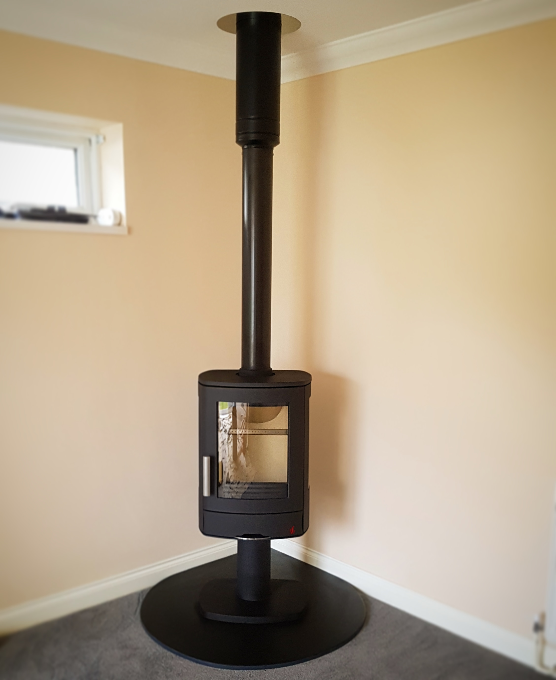 ACR Pedestal Stove Install