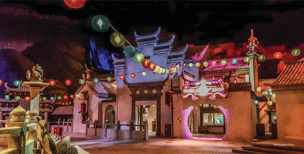 Kung Fu Panda Dreamworks Motiongate Dubai