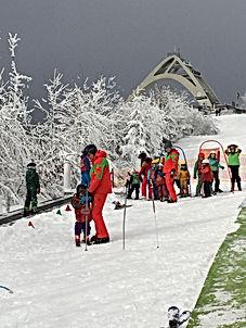Skiën en St. Georg Skischans
