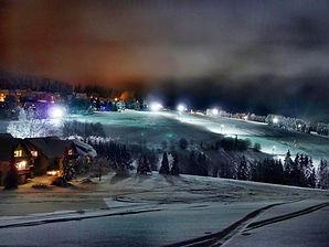 Avondskiën Hotel Winterberg Neuastenberg Skiën Wintersport Skidorf Postwiese