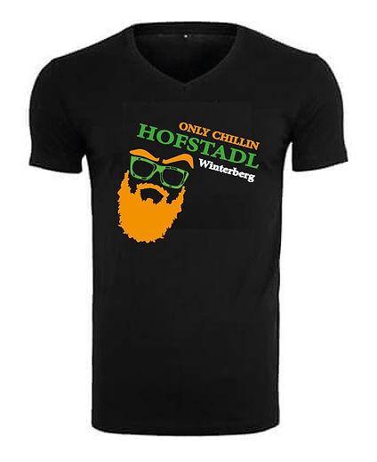 Tshirt Only Chillin combi Hofstadl Logo.