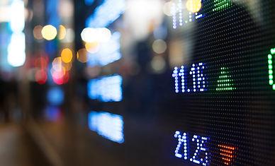 Cotações da Bolsa de Valores