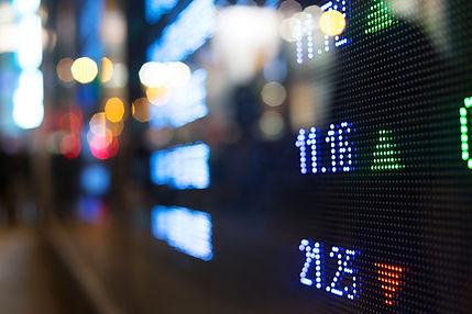Stock market ticker