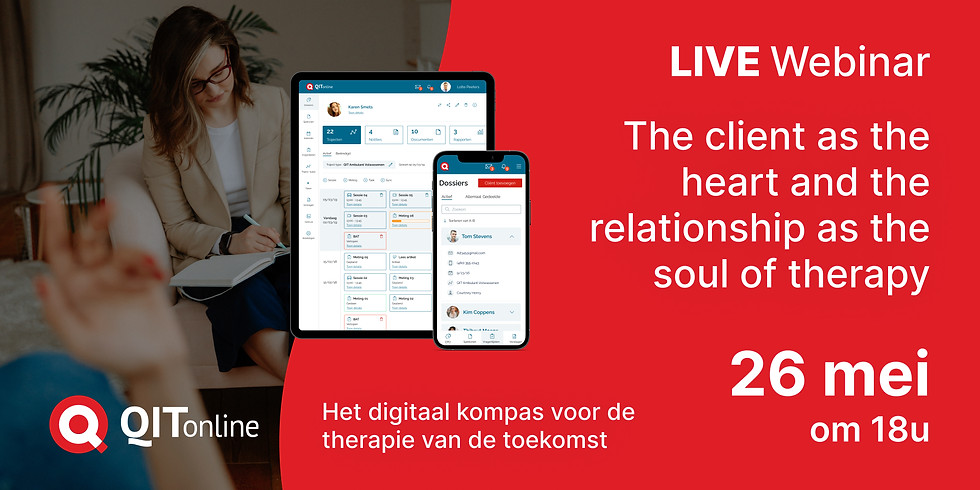 Inspiratie Webinar: The client as the heart and the relationship as the soul of therapy