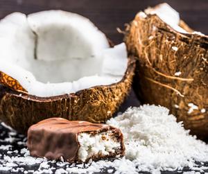 Kókusz-csoki illatú masszázsolaj