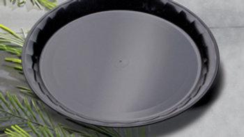 """EMI 18"""" Polypropylene Round Conserve Tray"""