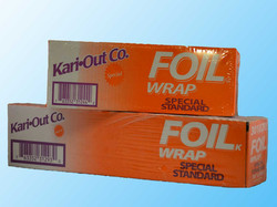 Foil and Plastic Wrap
