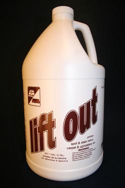 Lift Out Carpet Spotter