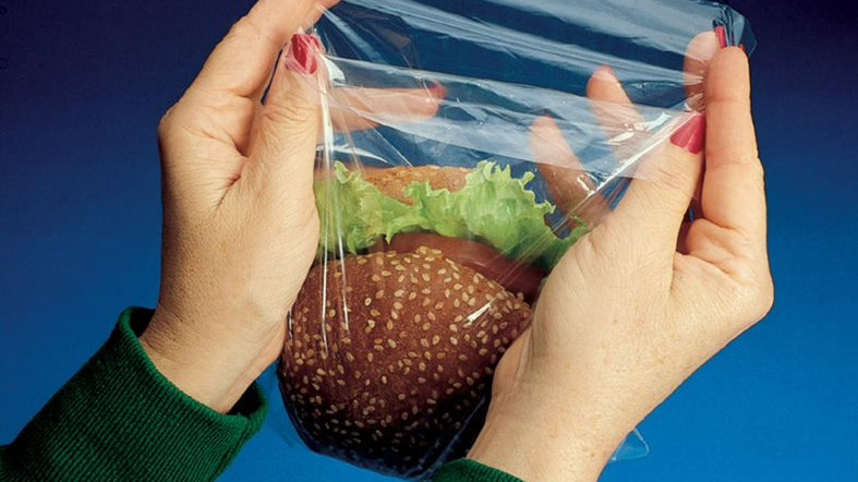 7 x 7 + 1 1/2 FB 0.85 MIL Low Density Flip Top Sandwich Bag