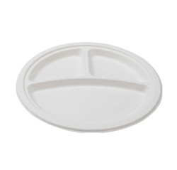Three Section Round Plate