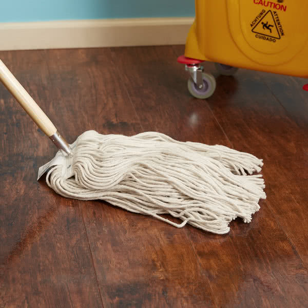 Mop Heads and Sticks