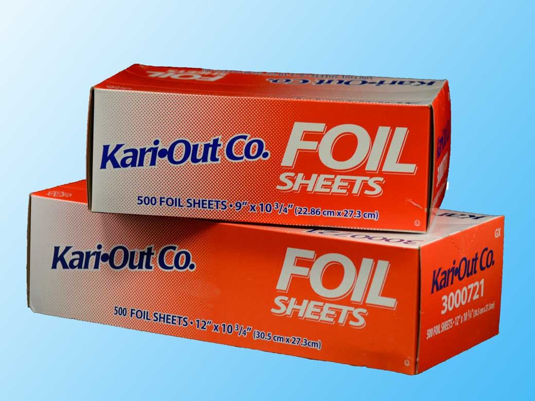 Pop-up Foil Sheets