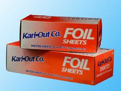 Kari-out Foil Sheets