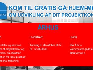 Århus: Gratis Gå-Hjem-møde: Hvad laver et PMO og hvordan måler du effekten?
