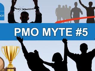 PMO Myte #5: Projektets succes er det bedste bevis for PMO'ets succes