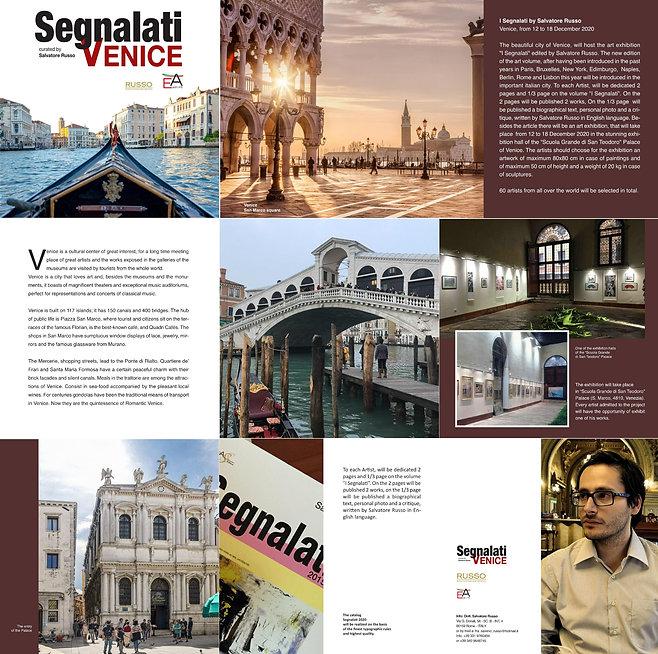 Presentation art exhibition SEGNALATI Ve