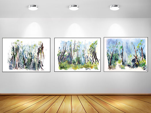 Gallery contemporary paintingss