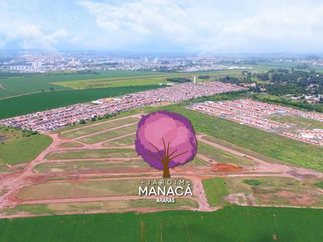 Jardim Manacá: obras a todo vapor e condições especiais!