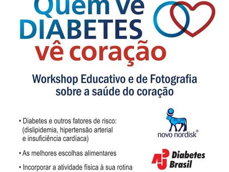 Diabetes: Quem vê diabetes, vê coração