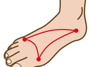 足の姿勢を整えるには○○○が必要。