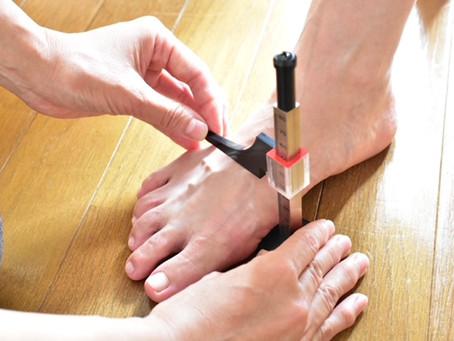 足の計測をして驚いたこと