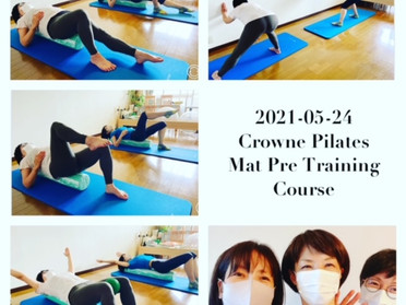 Crowne Pilatesプレトレーニングコース開催レポート④