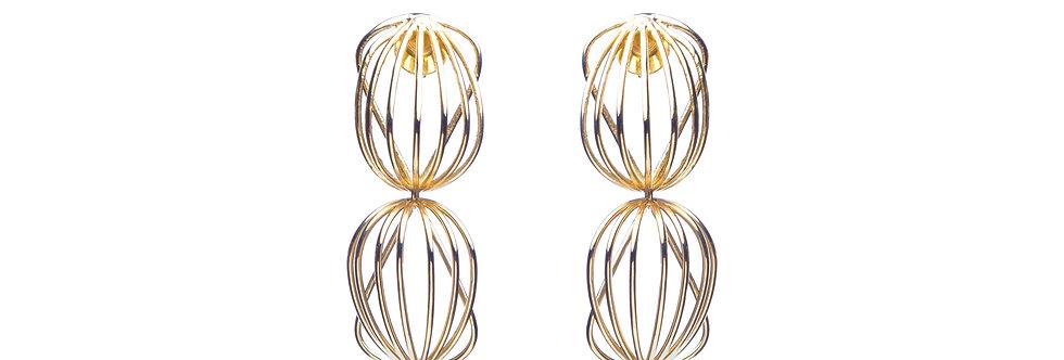 Earrings Dropping Lines