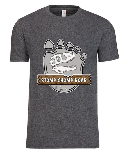 Adult Stomp Chomp Roar T-Shirt